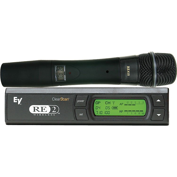 Electro-VoiceRE2-410 Wireless System with RE410 Handheld Microphone888365791098