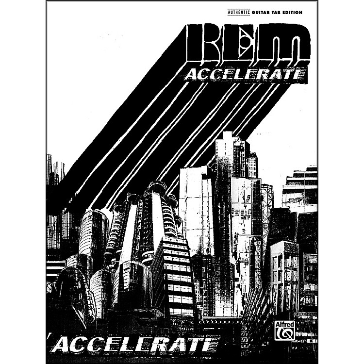 AlfredREM Accelerate Guitar Tab Book