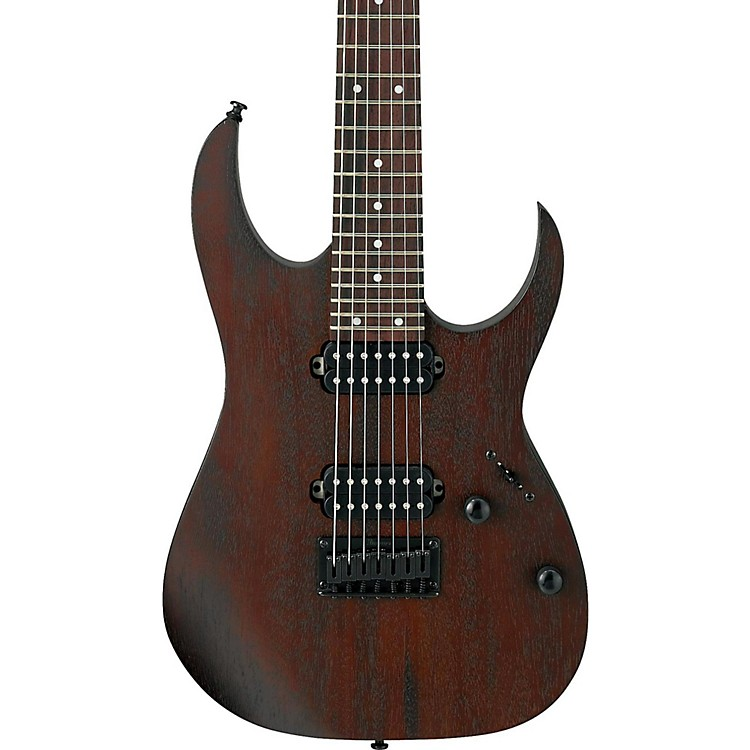 IbanezRG Series RG7421 Fixed Bridge 7-String Electric GuitarFlat Walnut