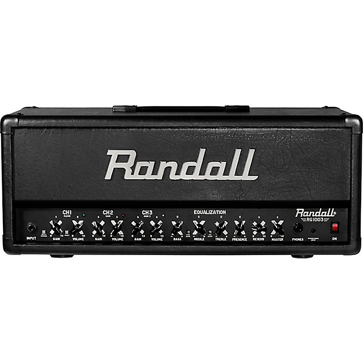 RandallRG1003H 100W Solid State Guitar HeadBlack