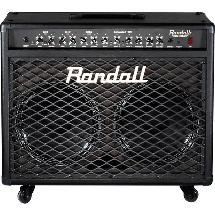 randall rg1503 212 150w solid state guitar combo black music123. Black Bedroom Furniture Sets. Home Design Ideas