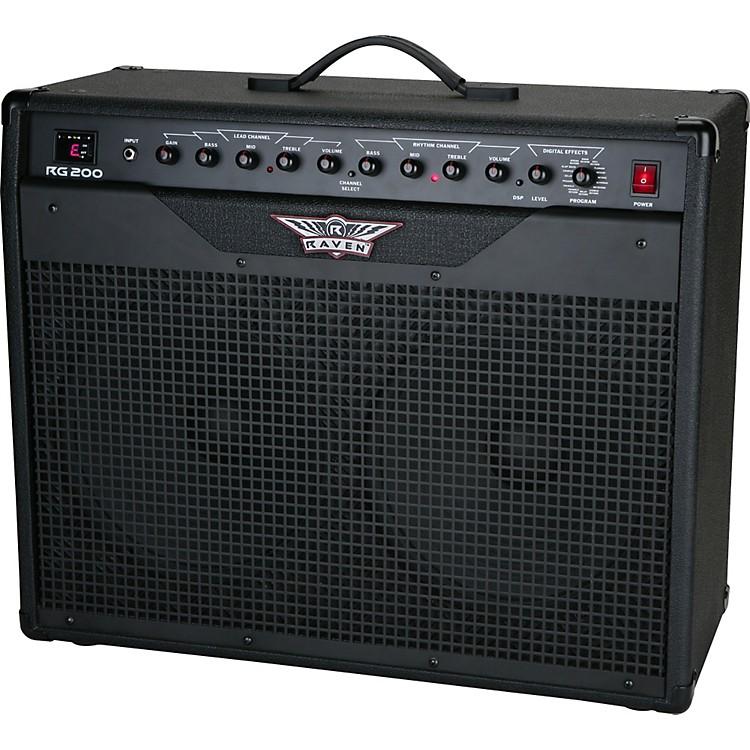 raven rg200 200w 2x12 guitar combo amp music123. Black Bedroom Furniture Sets. Home Design Ideas