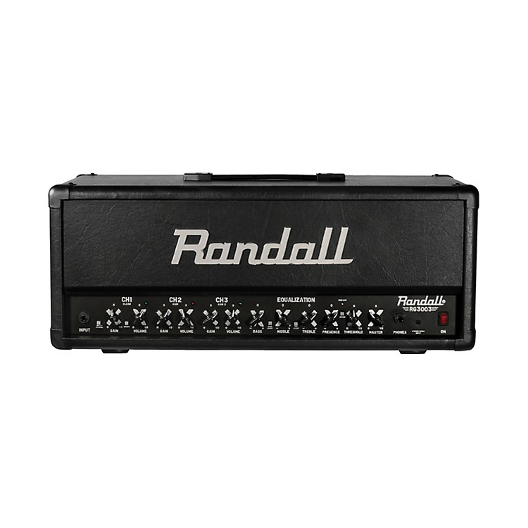 Randall RG3003H 300W Solid State Guitar Amp Head Black