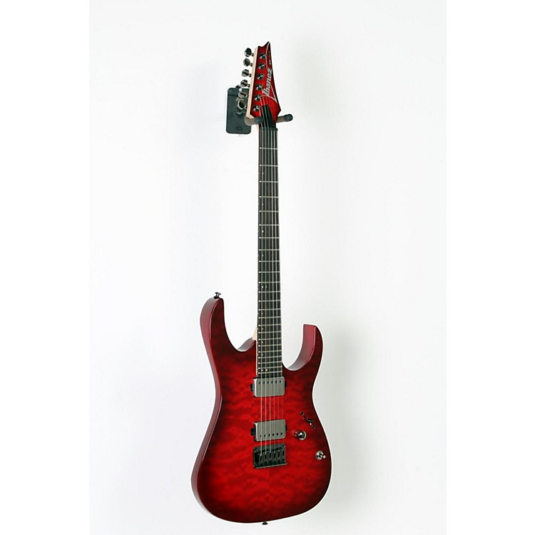 Ibanez RG6005 Quilted Maple Electric Guitar Transparent Red Burst 888365593036
