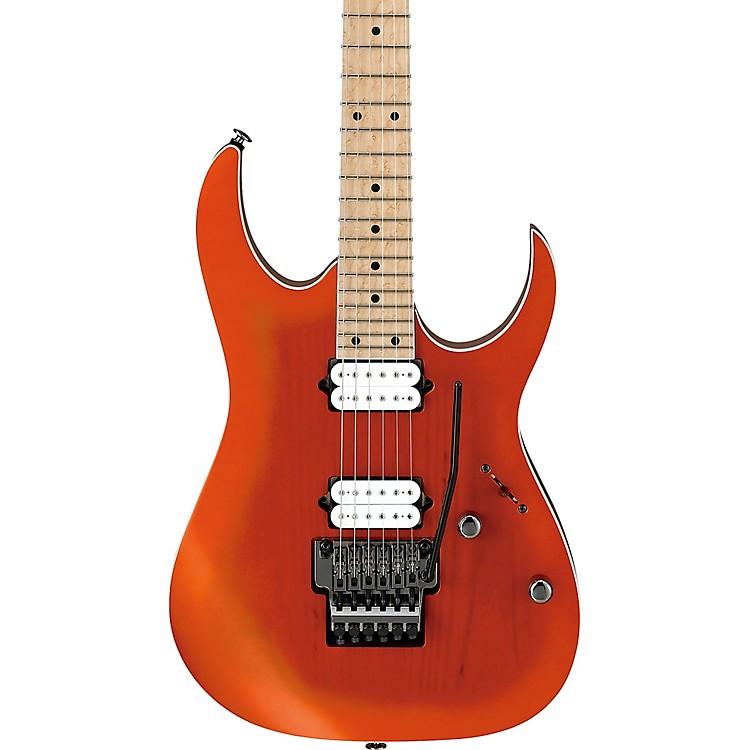 IbanezRG652AHMS RG Prestige Electric GuitarOrange Metallic Burst Flat