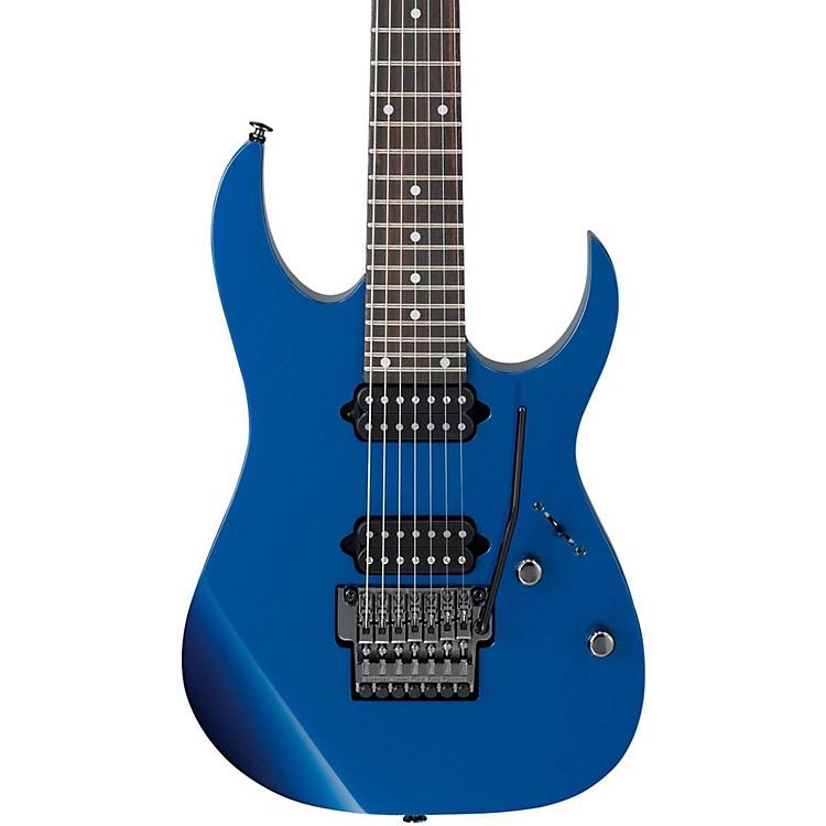 IbanezRG752 Prestige RG Series 7 String Electric GuitarCobalt Blue Metallic