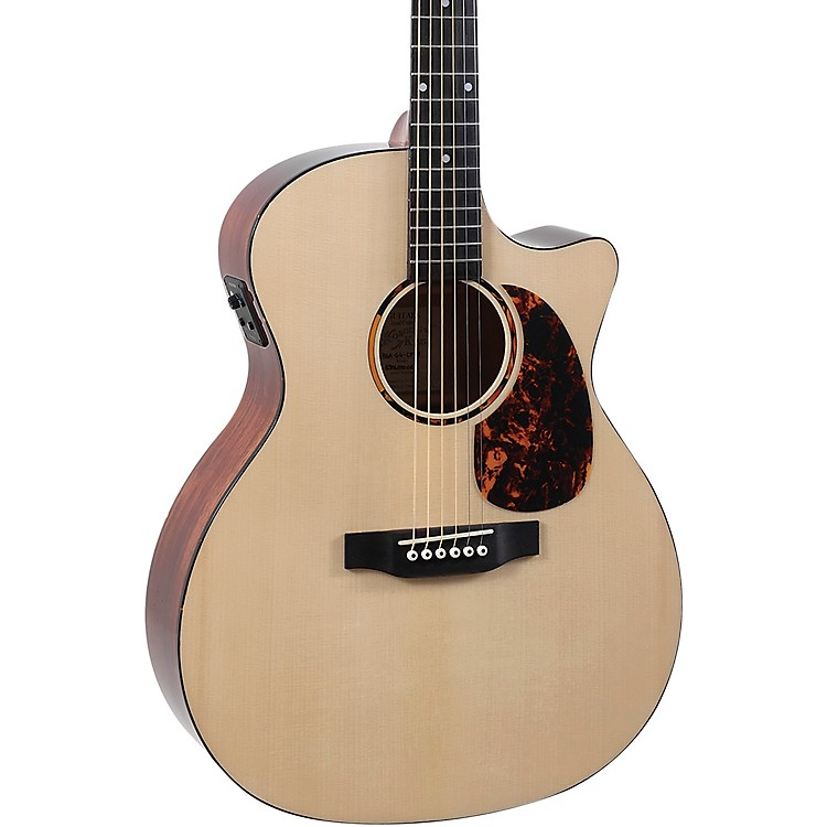 Recording King RGA-G6-CFE5 G6 Grand Auditorium Acoustic-Electric Guitar Natural