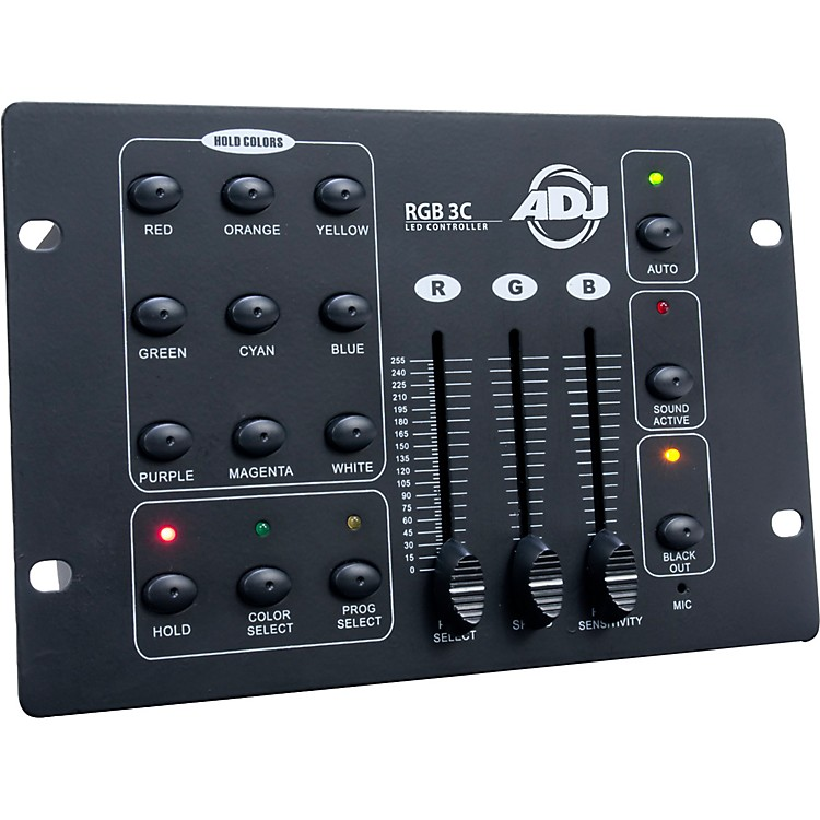 American DJ RGB 3C DMX LED Lighting Controller