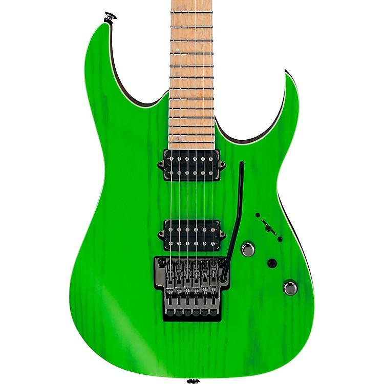 IbanezRGR5220M RG Prestige Electric GuitarTransparent Fluorescent Green
