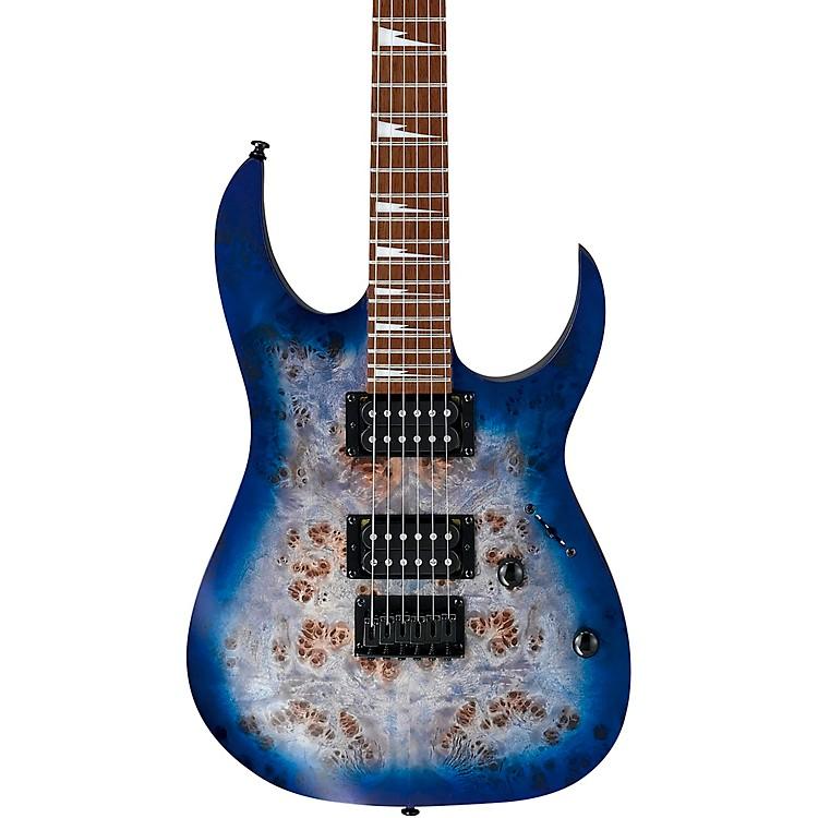 IbanezRGRT621DPB Electric GuitarFlat Blue Lagoon Burst