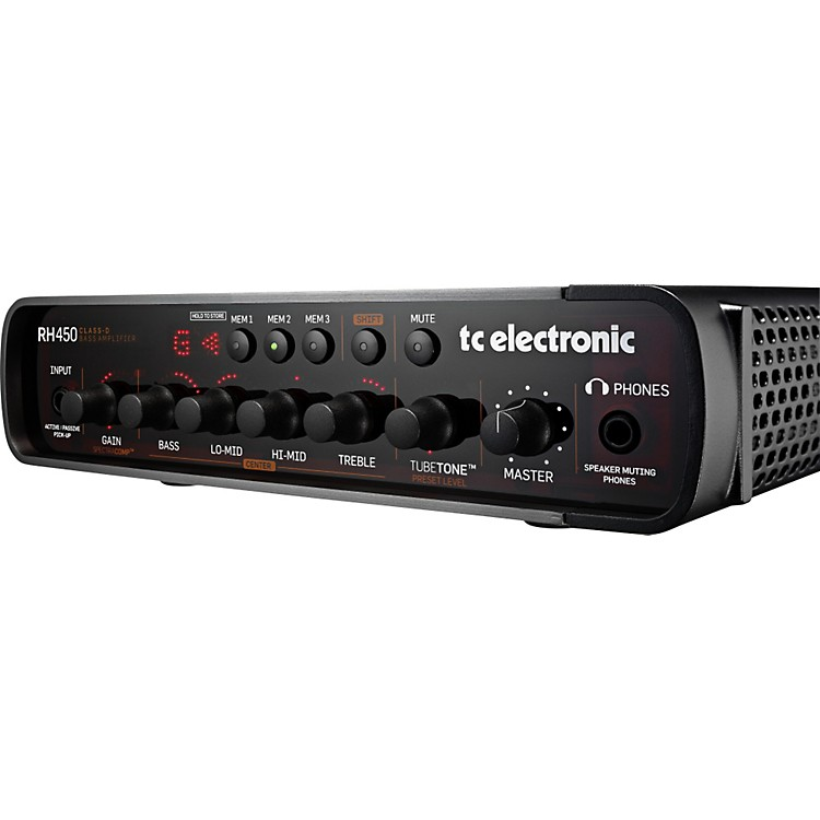 TC Electronic RH450 Bass Amp Head  888365806310