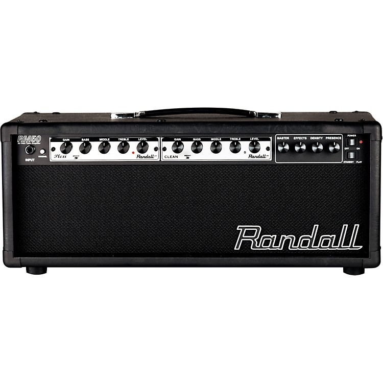 RandallRM50HB 50-Watt Modular Tube Amp HeadRegular886830865305