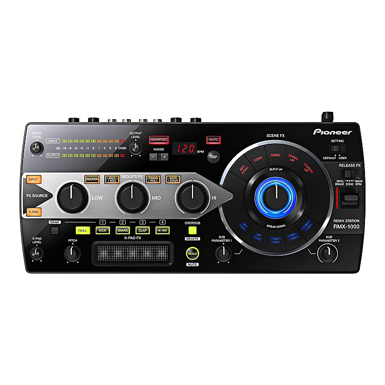 Pioneer RMX-1000 Remix Station Black
