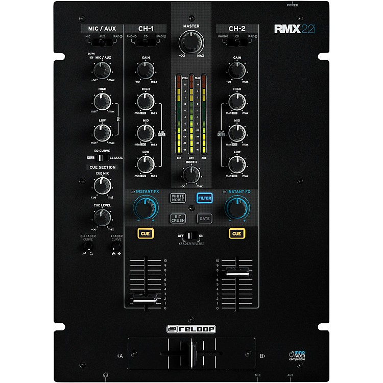 Reloop RMX-22I 2-Channel MIDI Mixer