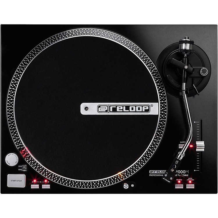 Reloop RP-4000M High-Torque Turntable Black