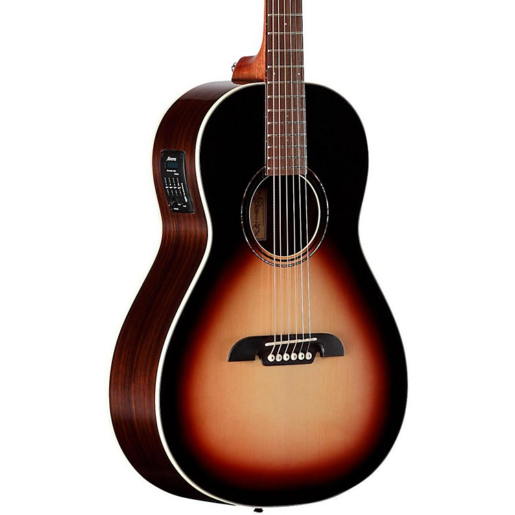 alvarez rp270esb parlor acoustic electric guitar music123. Black Bedroom Furniture Sets. Home Design Ideas