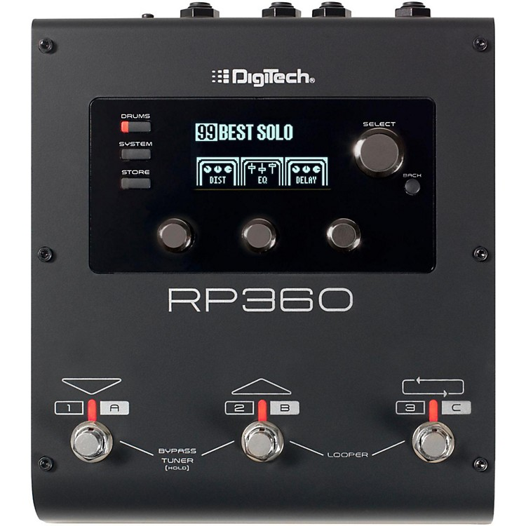 DigiTechRP360 Guitar Multi-Effects Pedal