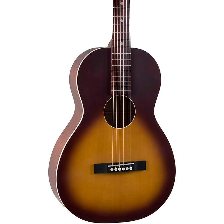 Recording KingRPS-9P-TS Dirty 30's Series 9 PLUS Single 0 Acoustic GuitarTobacco Sunburst