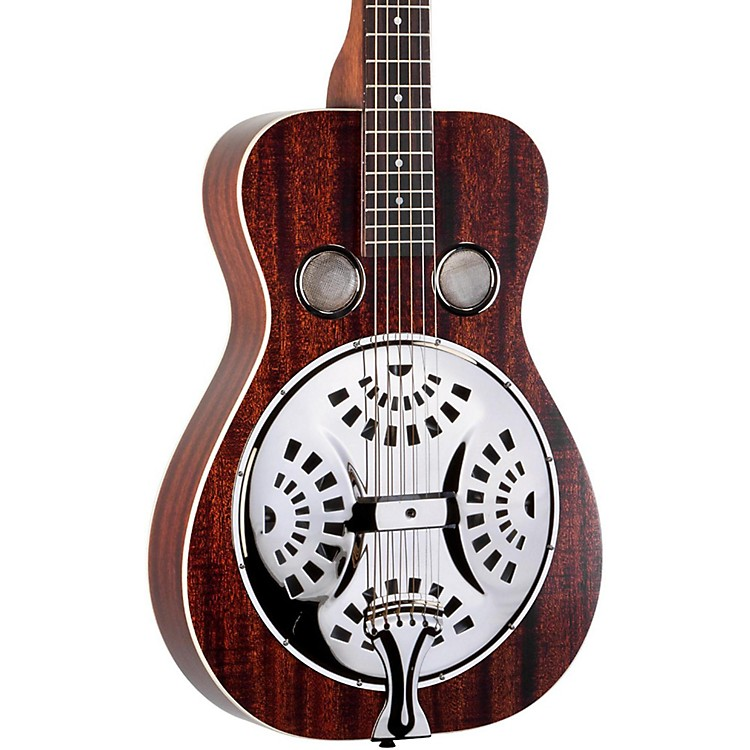 Recording King RR-61-BR Classic Squareneck Resonator Guitar Satin Brown