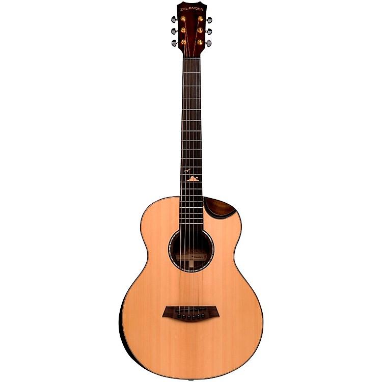 IslanderRS-MG-EQ Deluxe Acacia Acoustic-Electric Mini GuitarNatural