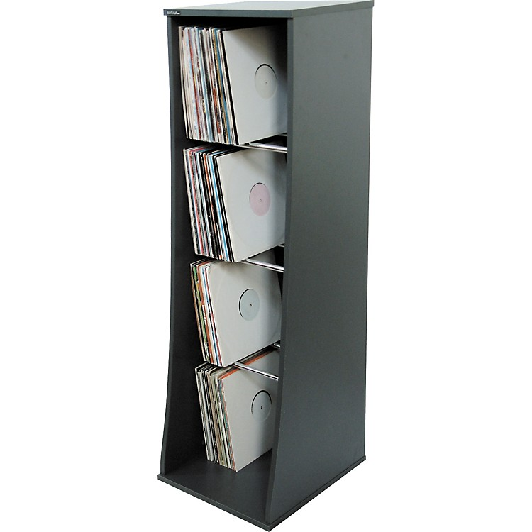 Sefour RS300 500 LP Vinyl Storage Unit Midnight Gray