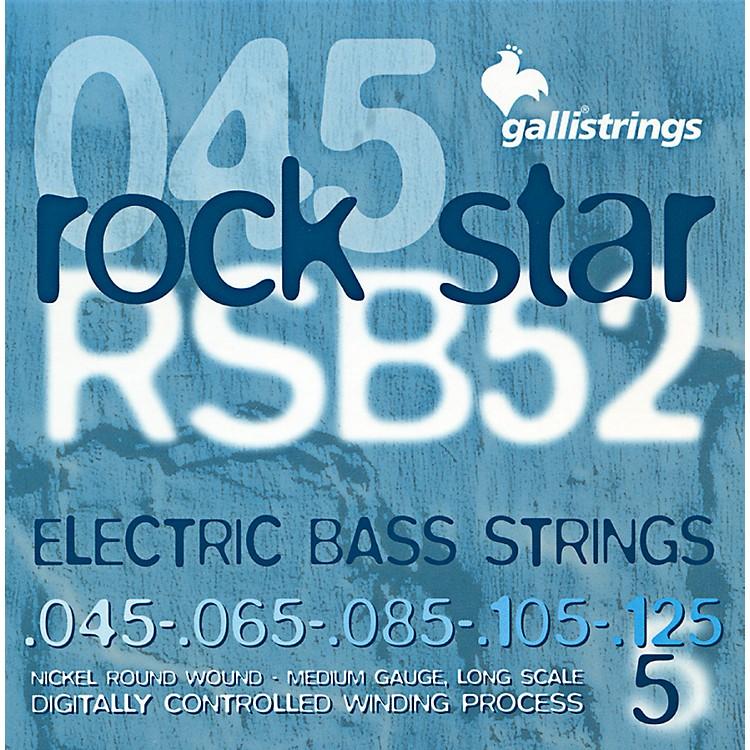 Galli StringsRSB52 ROCKSTAR 5-String Medium Bass Strings 45-125