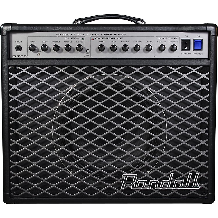 RandallRT Series RT50C 50W 1x12 Tube Guitar Combo Amp