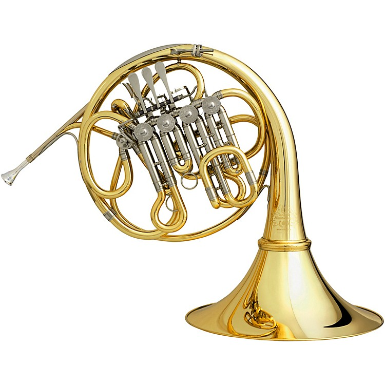 Hans HoyerRT92 Series Descant HornYellow BrassDetachable Bell