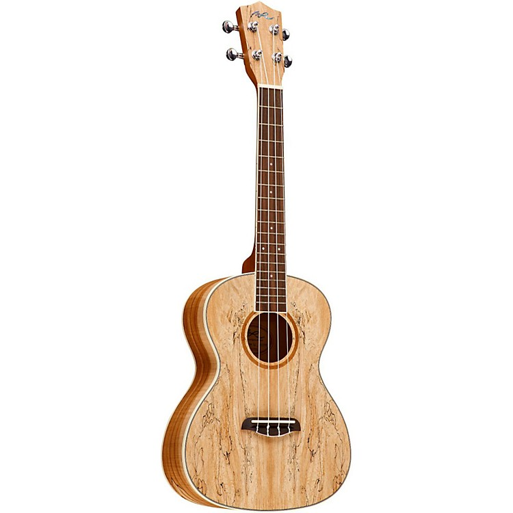 Manuel Rodriguez RTUSM Spalted Maple Tenor Ukulele Natural Tenor