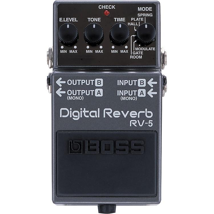 BossRV-5 Digital Reverb Effects Pedal