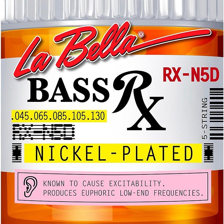 LaBellaRX-N4D Rx Nickel 5-String Electric Bass Strings