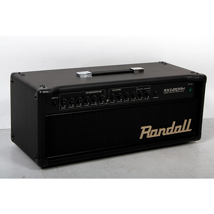 Randall RX Series RX120RH 120W Guitar Amp Head Black 888365842486