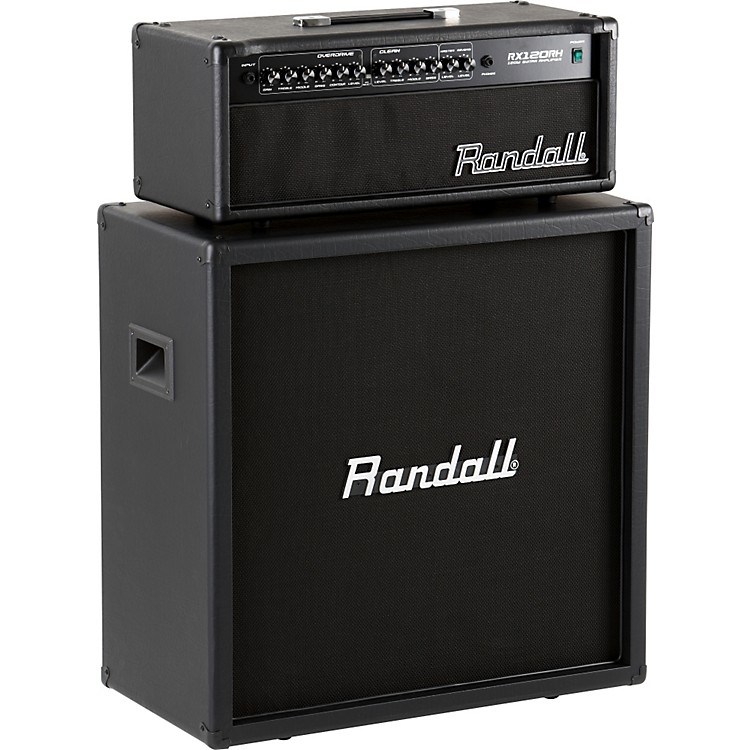 RandallRX120RH and RX412 Half Stack