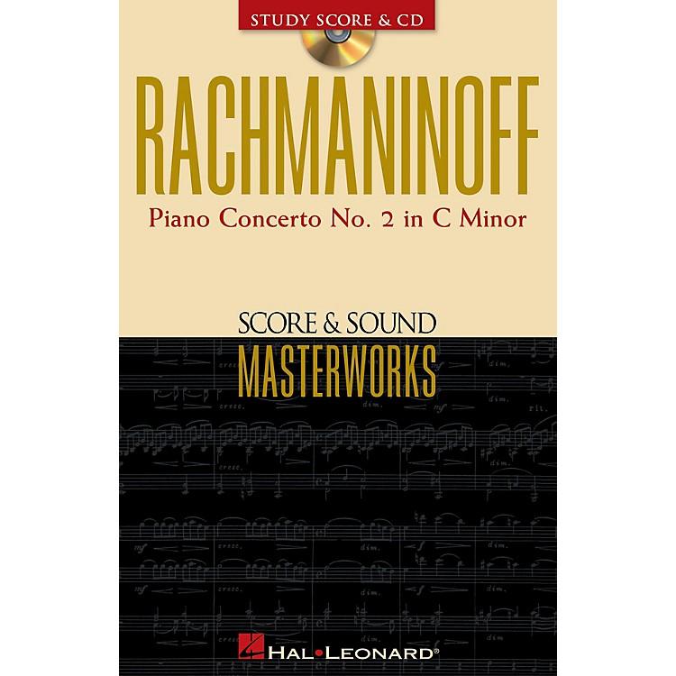 Hal LeonardRachmaninoff - Piano Concerto No. 2 in C Minor Study Score with CD by Sergei Rachmaninoff