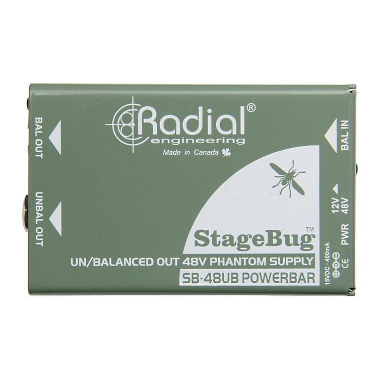 Radial EngineeringRadial Engineering SB-48UB Phantom Power Supply for Instrument Microphones