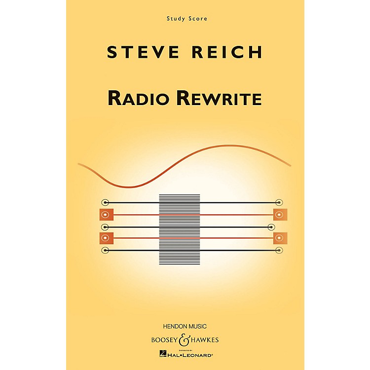 Boosey and HawkesRadio Rewrite (for Chamber Ensemble) Boosey & Hawkes Scores/Books Series Softcover by Steve Reich