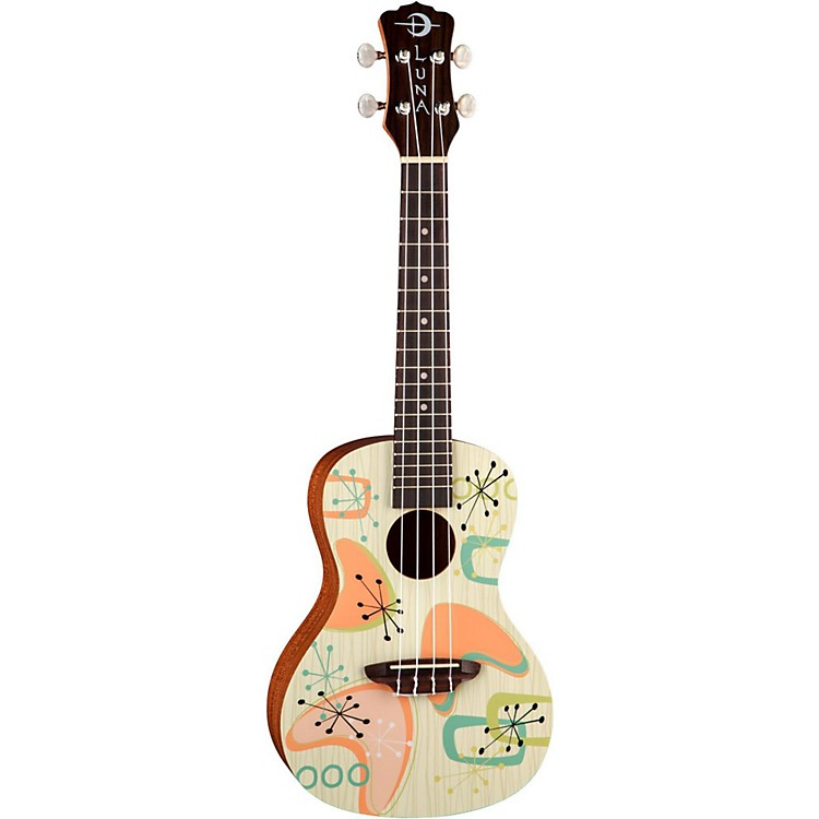 Luna GuitarsRadioactive Concert Ukulele