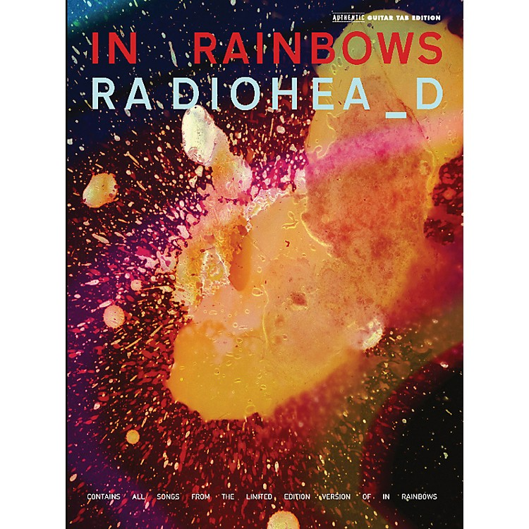 Alfred Radiohead - In Rainbows Guitar Tab Songbook
