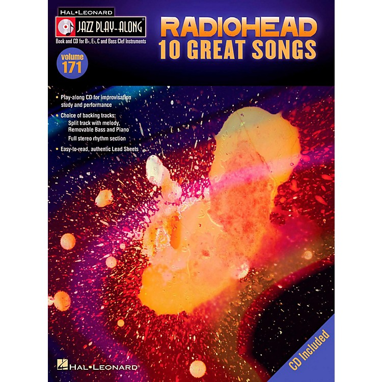 Hal LeonardRadiohead - Jazz Play-Along Volume 171 Book/CD