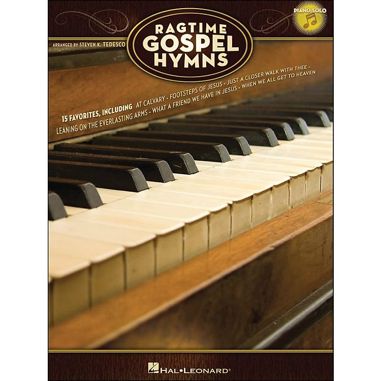 Hal LeonardRagtime Gospel Hymns - Piano Solo