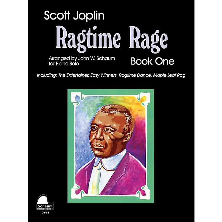 SCHAUMRagtime Rage, Bk 1 Educational Piano Series Softcover