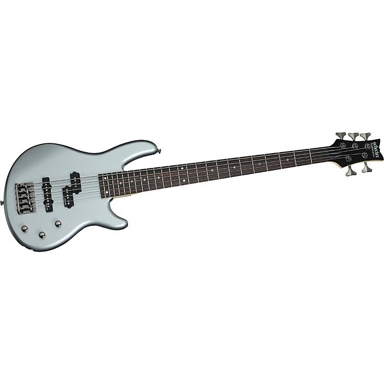 Schecter Guitar ResearchRaiden Deluxe-5 5-String Electric Bass GuitarMetallic Silver