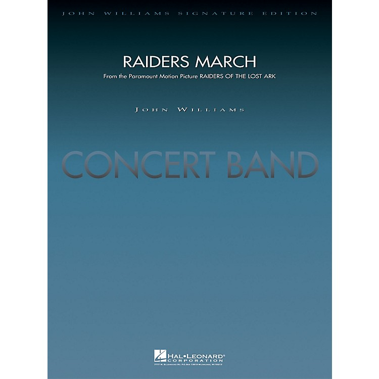 Hal Leonard Raiders March (Score and Parts) Concert Band Level 5 Arranged by Paul Lavender