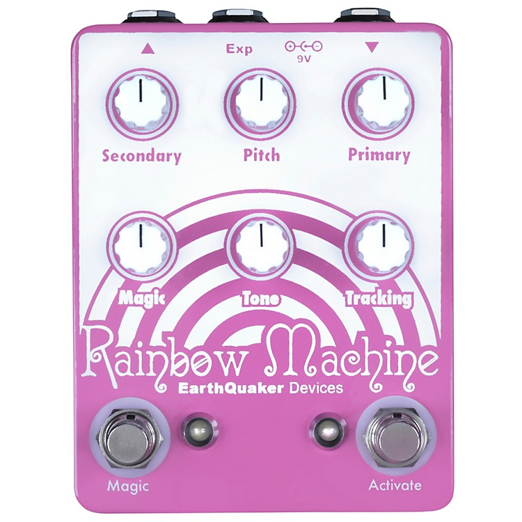 EarthQuaker DevicesRainbow Machine Polyphonic Pitch Mesmerizer Guitar Effects Pedal
