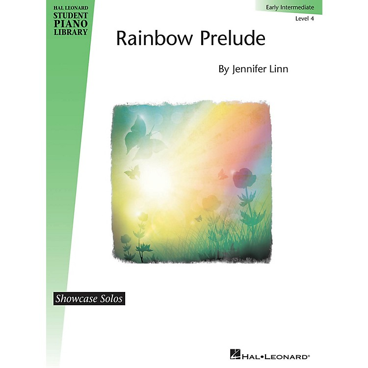 Hal Leonard Rainbow Prelude Piano Library Series by Jennifer Linn (Level Early Inter)