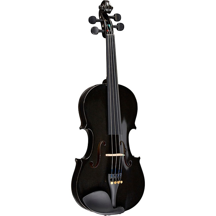 BellafinaRainbow Series Black Violin Outfit4/4 Size