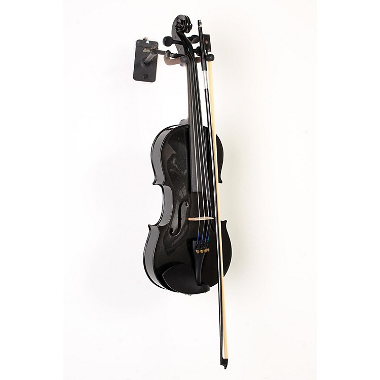 Bellafina Rainbow Series Black Violin Outfit 4/4 Size 888365897783