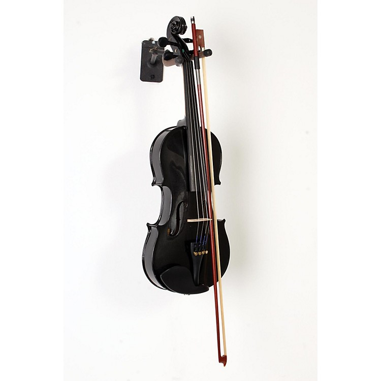 Bellafina Rainbow Series Black Violin Outfit 4/4 Size 888365908595