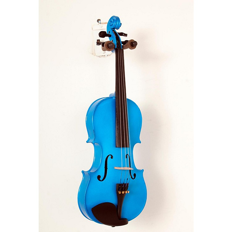 Bellafina Rainbow Series Blue Violin Outfit 4/4 Size 888365824598