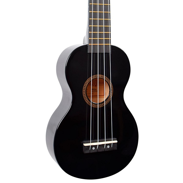 Mahalo Rainbow Series MR1 Soprano Ukulele Black